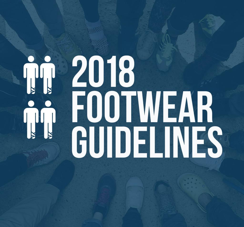 footwear guideliness